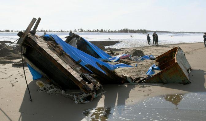 Leichenschiff mit 7 Toten vor Japans Küste entdeckt (Foto)