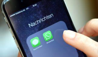 WhatsApp ist einer der beliebtesten Messenger weltweit. (Foto)