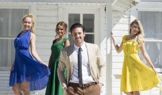 """The Great Gatsby"" ist das Filmthema von Janine Christin, Daniel, Janina Celine und Maxime (v.l.). (Foto)"