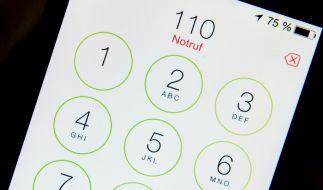 Der Notrufassistent beim iPhone ruft automatisch die Polizei an. (Foto)