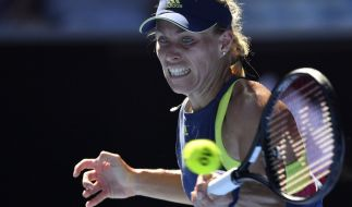 Angelique Kerber in Aktion. (Foto)