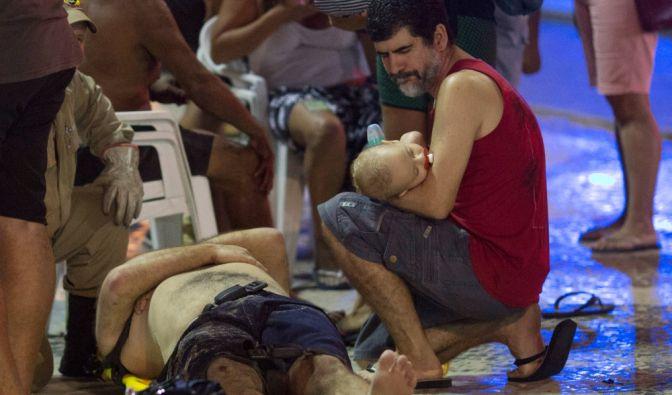 Auto rast in Menschenmenge - 15 Verletzte, ein Baby stirbt (Foto)