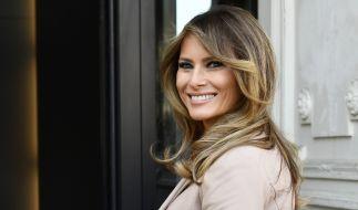 Melania Trump ist die First Lady der USA. (Foto)
