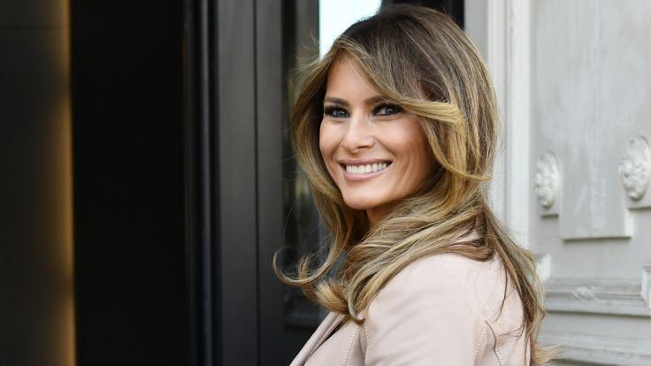 Melania Trump ist die First Lady der USA.