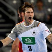 Deutsche Handballer starten mit Zitter-Sieg in EM-Hauptrunde (Foto)