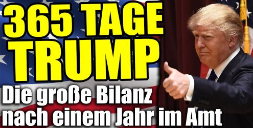 365 Tage Donald Trump