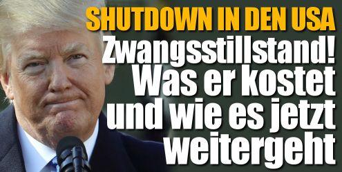 Shutdown in den USA