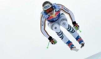 Beim Ski alpin Weltcup 2018 in Kitzbühel schrieb Thomas Dreßen bei der Abfahrt auf der Streif Wintersportgeschichte. (Foto)