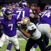 Last-Minute-Touchdown - Minnesota steht im NFL-Halbfinale! (Foto)