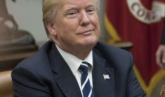 Hat er oder hat er nicht? Donald Trump wird aktuell eine Affäre nachgesagt. (Foto)