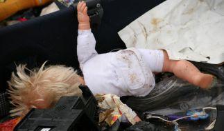 Ein Vater aus China warf seine Tochter in den Müll, weil er dachte sie sei unheilbar krank. (Symbolbild) (Foto)