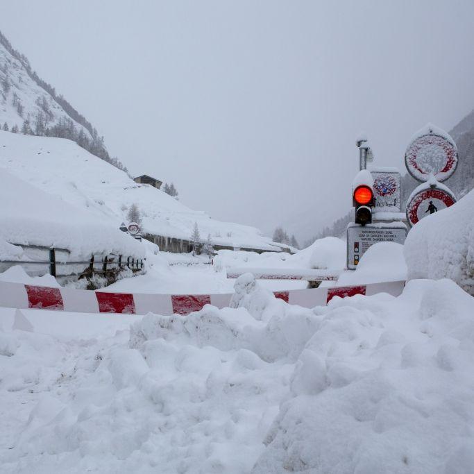 Extremer Schneefall! Ausnahmezustand in den Alpen (Foto)