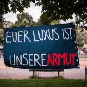 Oxfam warnt vor wachsender Ungleichheit in Deutschland und der Welt. (Foto)