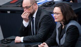 Die SPD verliert nach dem Sonder-Parteitag weiterhin an Zustimmung. (Foto)