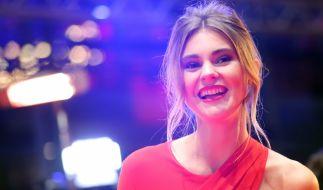 "Stefanie Giesinger ging bei ""Germany's Next Topmodel"" 2014 als strahlende Siegerin hervor. (Foto)"