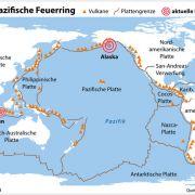 Tsunami-Alarm! Erdbeben der Stärke 8,2 vor der Küste von Alaska (Foto)