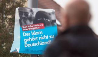 """""""Der Islam gehört nicht zu Deutschland"""", meint die AfD. Nun ist ein wichtiger Politiker konvertiert. (Foto)"""