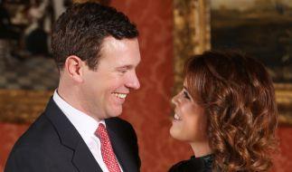 Prinzessin Eugenie scheint sich mit ihrem Verlobten Jack Brooksbank ein Ebenbild ihres Vaters Prinz Andrew geangelt zu haben. (Foto)