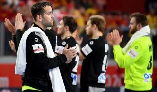 Im Spiel gegen Polen testen die deutschen Handballer für die WM im eigenen Land. (Foto)