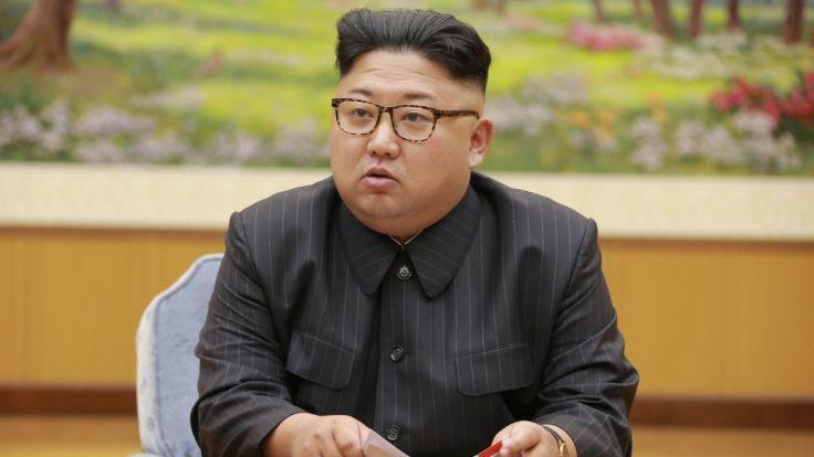 Nordkoreas Machthaber Kim Jong-un ruft