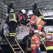 Zahl der Todesopfer bei Zugunglück nahe Mailand steigt auf 4 (Foto)