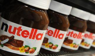 Der beliebte Brotaufstrich Nutella hat auch in Frankreich treue Fans - die rasten beim Gerangel um die Nuss-Nougat-Creme sogar handgreiflich aus. (Foto)