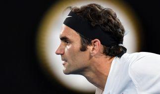 Roger Federer steht im Finale der Australian Open. (Foto)