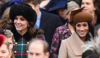 Werden noch 2018 offiziell Schwägerinnen: Kate Middleton und Meghan Markle. (Foto)