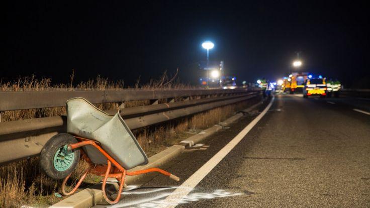 Ein Fahrer hatte sie zwischen den Ausfahrten Ingelheim West und Bingen Ost verloren und wollte sie selbst von der Fahrbahn räumen.