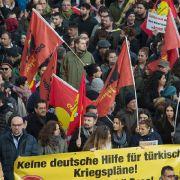 Tausende Kurden protestieren in Köln! Alle Entwicklungen hier im Ticker (Foto)