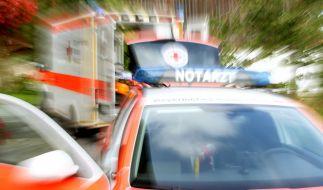 Auf einen Krankenwagen musste der Sänger leider verzichten. (Foto)