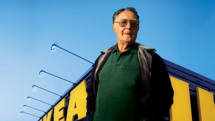 Der Gründer des schwedischen Möbelkonzern Ikea, Ingvar Kamprad, ist am 28.01.2018 im Alter von 91 Jahren gestorben. (Foto)
