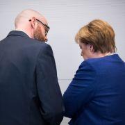 Merkel in Sorge! Kanzlerin besucht CDU-General am Krankenbett (Foto)