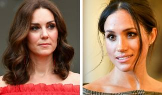 Konkurrentinnen? Kate Middleton und Meghan Markle. (Foto)