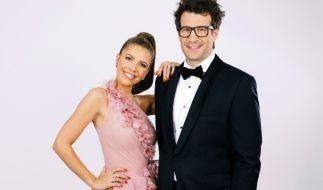 """Victoria Swarovski und Daniel Hartwich sind die Moderatoren der 11. Staffel """"Let's Dance"""" 2018. (Foto)"""
