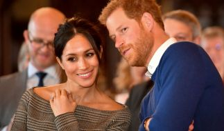 Meghan Markle und Prinz Harry heiraten am 19. Mai 2018. (Foto)