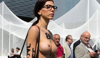 Milo Moiré hat kein Problem mit Nacktheit. (Foto)