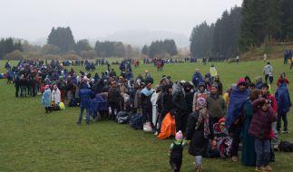 Experte Manow glaubt zu wissen, warum Angela Merkel 2015 die Grenzen für Flüchtlinge öffnete. (Foto)