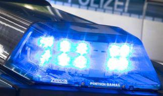 Zwei Tote hat die Polizei in Darmstadt nahe dem Hauptbahnhof gefunden. (Foto)