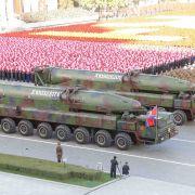 Nordkorea plant gewaltige Militärparade vor Olympia (Foto)