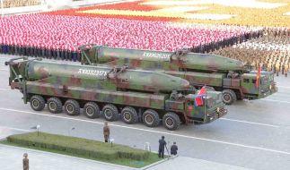 Mit einer groß angelegten Militärparade will Nordkorea den 70. Jahrestag der Gründung der nordkoreanischen Streitkräfte feiern (Archivbild). (Foto)