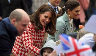 Herzogin Kate ehrt das Ansehen von Prinzessin Diana. (Foto)