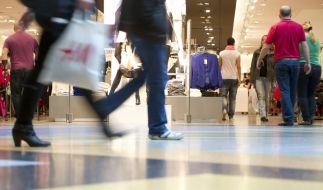 Zum verkaufsoffenen Sonntag klingeln üblicherweise die Kassen im Einzelhandel. (Foto)