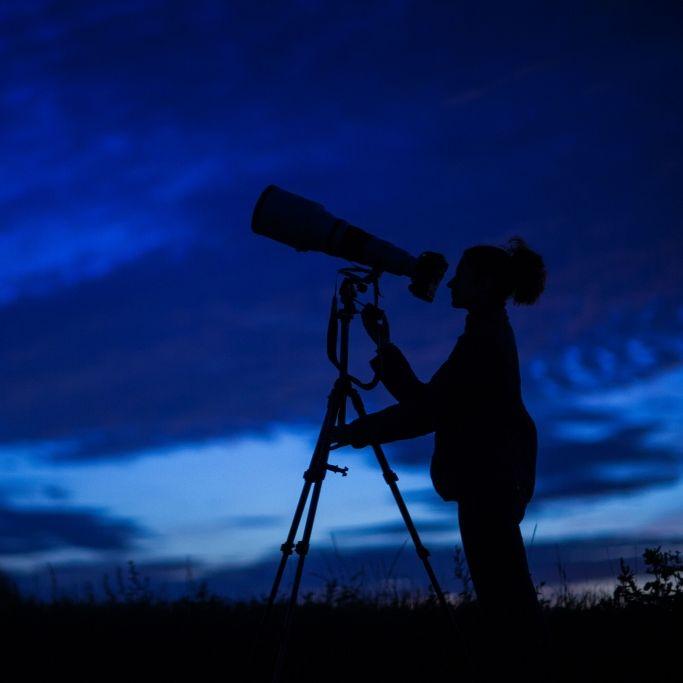 Partielle Sonnenfinsternis, Leoniden und Virginiden zu sehen (Foto)