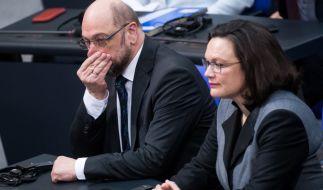Die Zustimmung für die SPD von Martin Schulz sinkt weiter. (Foto)