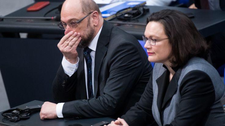 Die Zustimmung für die SPD von Martin Schulz sinkt weiter