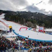 Widrige Wetterumstände könnten dem Ski-alpin-Weltcup 2018 in Garmisch-Partenkirchen bei der Abfahrt der Damen einen Strich durch die Rechnung machen. (Foto)