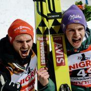 Im Live-Stream und TV: Team-Wettkampf aus Vikersund (Foto)