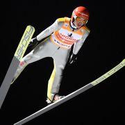 Richard Freitag springt von der Mühlenkopfschanze in Willingen. (Foto)