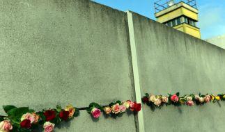 Die Berliner Mauer stand 28 Jahre, 2 Monate und 26 Tage. Und exakt so viel Zeit ist nun schon seit ihrem Fall vergangen. (Foto)